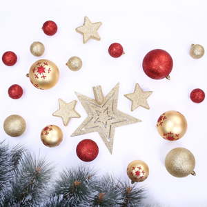 Sada 76 vánočních ozdob DecoKing Susi