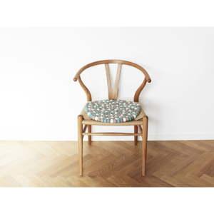 Světle modrý kuličkový vlněný podsedák Wooldot Ball Chair Pad, ⌀ 39 cm