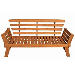 Zahradní lavice z eukalyptového dřeva ADDU Fortuna