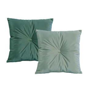 Sada 2 zelených polštářů JohnsonStyle Magic Velvet, 45 x 45 cm