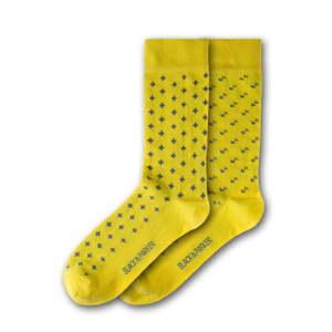 Sada 2 párů unisex žlutých ponožek Black&Parker London Waddesdon, velikost 37 - 43
