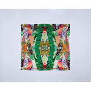 Módní šátek Madre Selva Kaleidoscopic, 55x55cm
