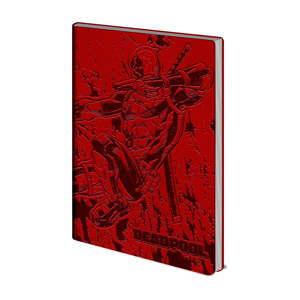 Linkovaný zápisník A5 Pyramid International Deadpool, 72 stran