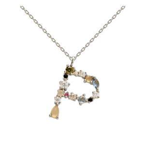 Stříbrný náhrdelník PD PAOLA Monogram P