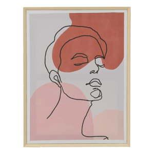 Nástěnný obraz na plátně InArt Art Face, 45x60cm