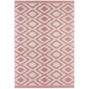 Červeno-krémový venkovní koberec Bougari Isle, 140x200cm