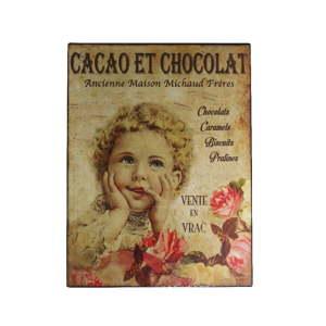 Nástěnná dekorace Antic Line Cacao Chocolat