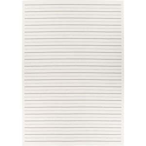 Bílý oboustranný koberec Narma Vao White, 80 x 250 cm