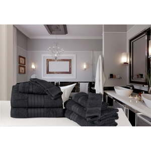 Koupelnový set osušek a rukavic z bavlny Uni Macro