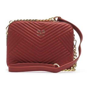 Červená dámská kabelka přes rameno 19V69 ITALIA