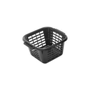 Černý koš na prádlo Addis Square Laundry Basket, 24 l