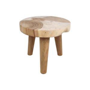Odkládací stolek ze dřeva munggur HMS collection Raw