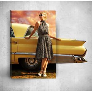 Nástěnný 3D obraz Mosticx Elegant Woman, 40 x 60 cm