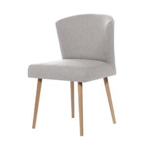 Světle šedá jídelní židle My Pop Design Richter
