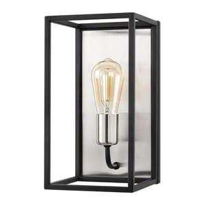 Černé nástěnné svítidlo Opviq lights Kafes, výška 32cm