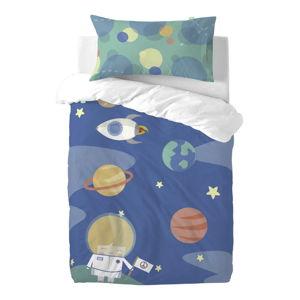 Dětské povlečení z čisté bavlny Happynois Astronaut, 115x145cm