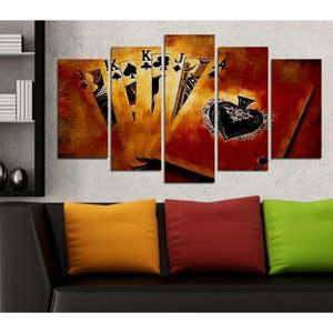 Vícedílný obraz 3D Art Ganilo, 102x60cm