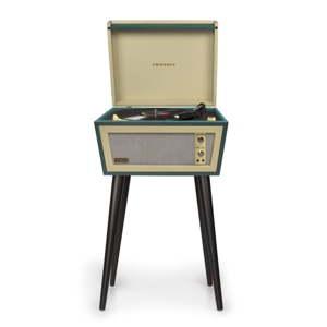 Zelený gramofon na nohách Crosley Sterling Green