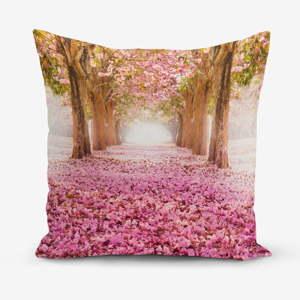 Povlak na polštář s příměsí bavlny Minimalist Cushion Covers Pinky, 45 x 45 cm
