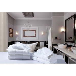 Koupelnový set osušek a rukavic z bavlny Uni Recto