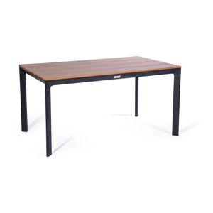Zahradní stůl s deskou v dřevěném dekoru Le Bonom Thor, 90 x 147 cm