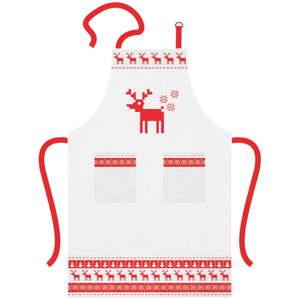 Bavlněná kuchyňská zástěra s vánočním motivem PPD Magic Christmas