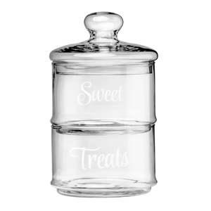 Sada 2 skleněných dóz Premier Housewares Little Sweet Treats, 1,55 l