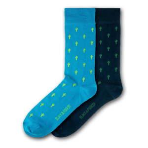 Sada 2 párů unisex ponožek Black&Parker London Jordell Bank, velikost 37 - 43
