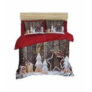 Vánoční povlečení na dvojlůžko Zoe, 200x220cm