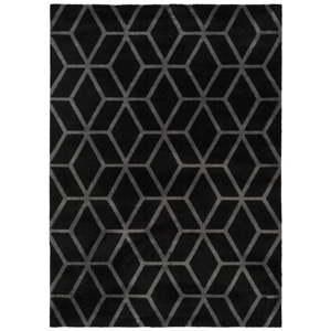 Černý koberec Universal Play, 80x150cm