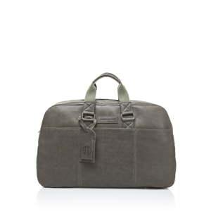 Tmavě zelená cestovní taška z telecí kůže Ferruccio Laconi Traveler