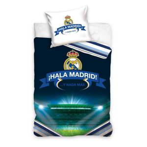 Dětské bavlněné povlečení na jednolůžko CARBOTEX Real Madrid II, 160 x 200 cm