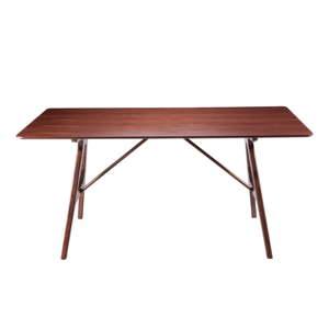 Dřevěný jídelní stůl sømcasa Amara, 160 x 95 cm