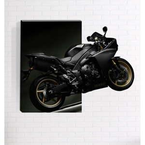 Nástěnný 3D obraz Mosticx Motorka, 40 x 60 cm