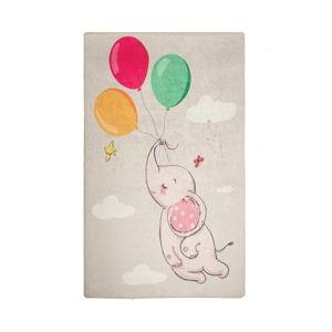 Dětský protiskluzový koberec Chilai Balloons,140x190cm