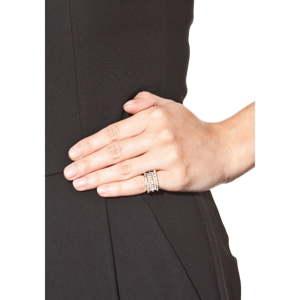 Dámský prsten ve stříbrné barvě NOMA Claudia