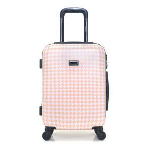 Béžové zavazadlo na 4 kolečkách Lollipops Molly, 31l