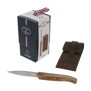 Kapesní nůž s dřevěnou rukojetí Jean Dubost Le Poche