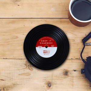 Bezdrátová nabíječka namobil Gift Republic Vinyl
