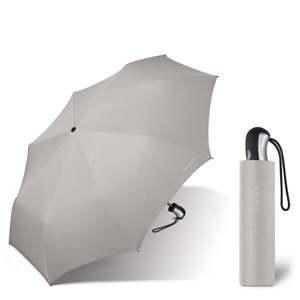 Světle šedý skládací deštník Ambiance Esprit, ⌀94cm