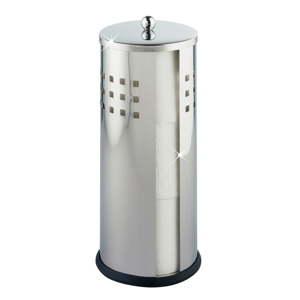 Toaletní kartáč ve stříbrné barvě Wenko Ancona Shiny
