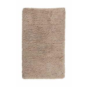 Medově hnědá koupelnová předložka z organické bavlny Aquanova Mezzo, 70 x 120 cm