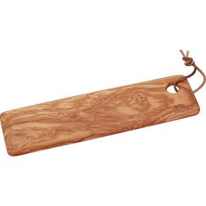 Krájecí prkénko ze dřeva olivovníku Jean Dubost, 40 x 12 cm