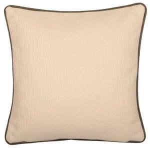 Béžový oboustranný polštář Kate Louise Cassie, 45 x 45 cm