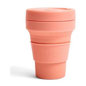 Oranžový skládací hrnek Stojo Pocket Cup Apricot, 355 ml