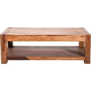 Dřevěný konferenční stolek Kare Design Couchtisch, 120x60cm