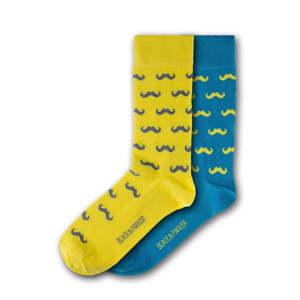 Sada 2 párů unisex ponožek Black&Parker London Wycombe Park, velikost 37 - 43