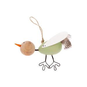 Drátěný dekorativní závěsný ptáček Dakls Bird Uno