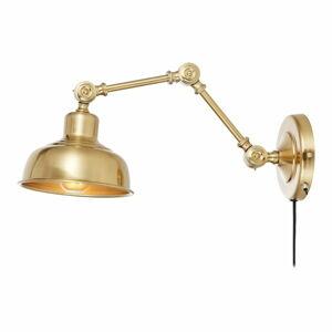 Nástěnná lampa ve zlaté barvě Markslöjd Grimstad