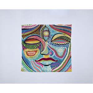 Módní šátek Madre Selva Face, 55x55cm
